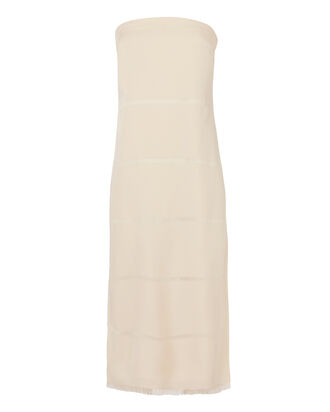 Clarence Strapless Dress, NUDE, hi-res
