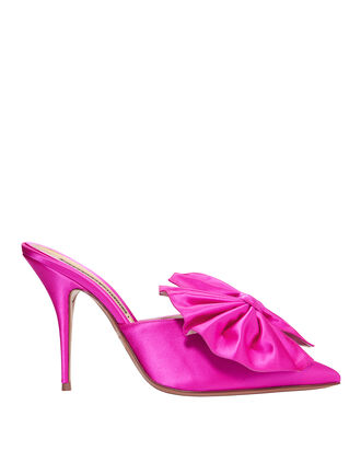 Kate Shocking Pink Mules, PINK, hi-res