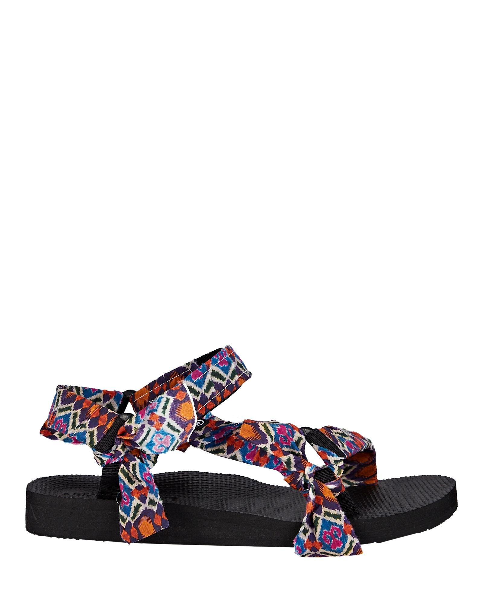 Trekky Abstract Knotted Sandals, MULTI, hi-res