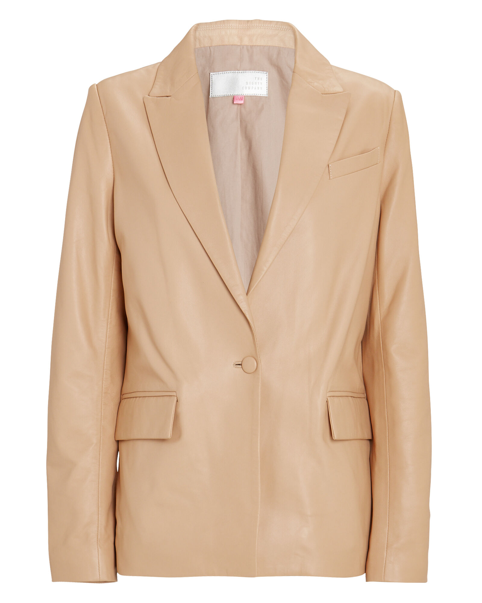 The Hoxton Leather Blazer, , hi-res