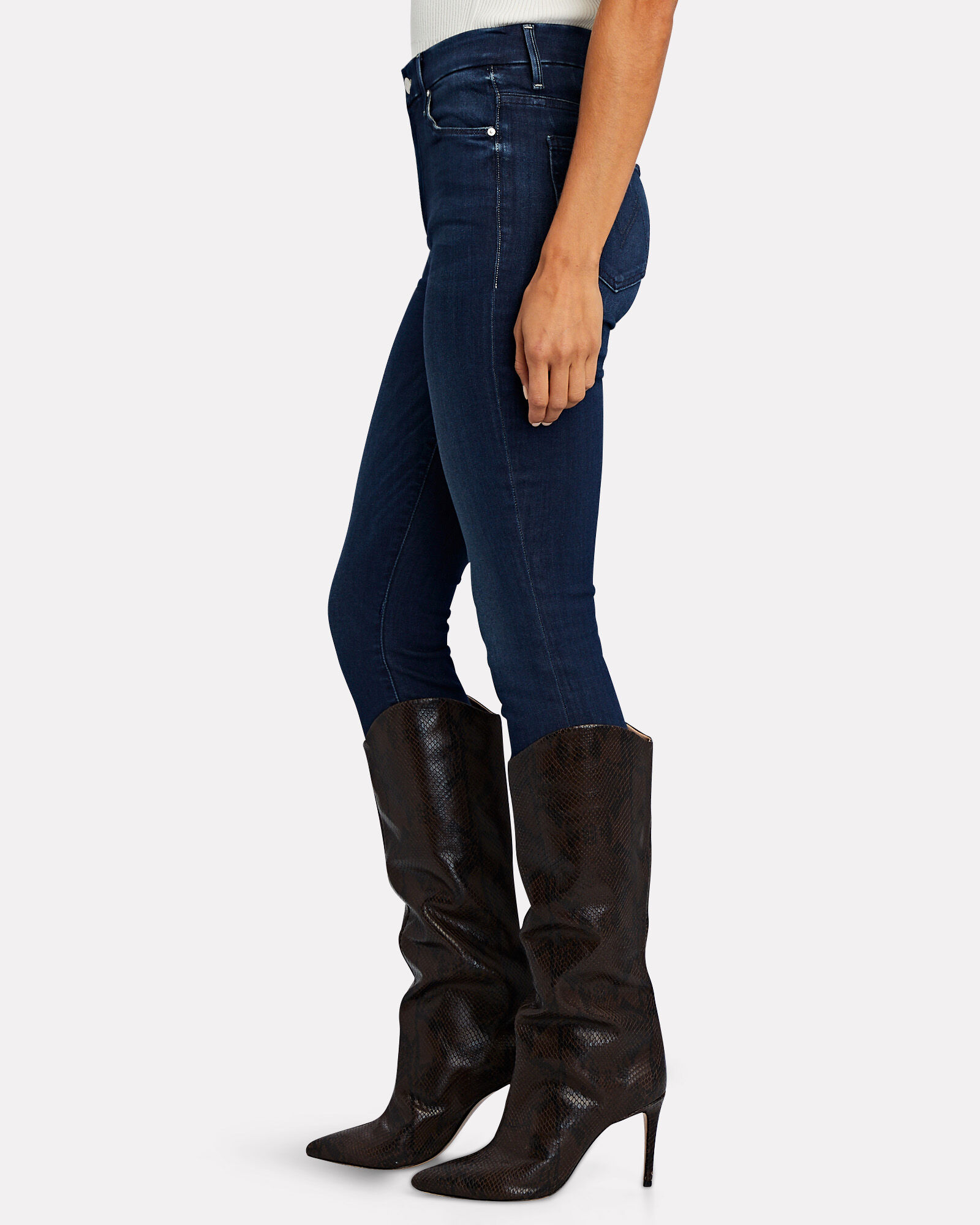 The Looker Ankle Fray Skinny Jeans, TONGUE IN CHIC, hi-res