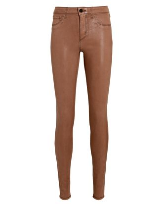 Marguerite Coated Skinny Jeans, SPARROW, hi-res