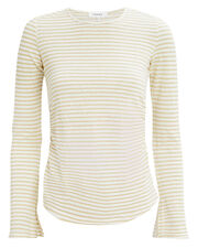 Bell Sleeve Striped Top, IVORY, hi-res
