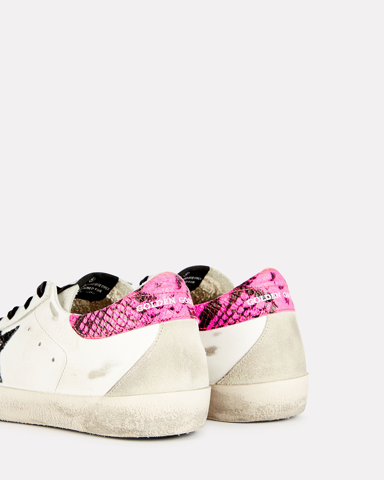 Superstar Low-Top Sneakers, WHITE/PINK, hi-res