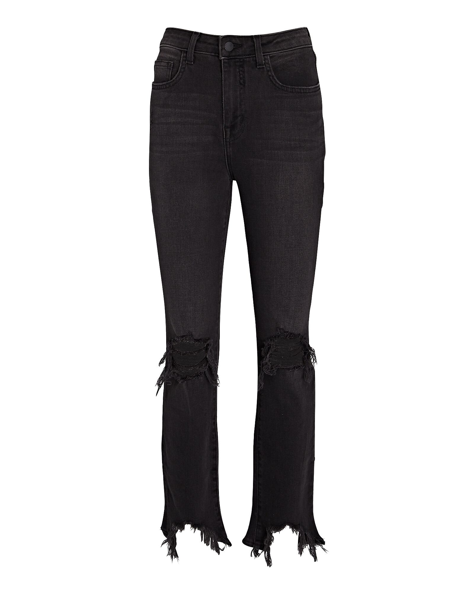 High Line Distressed Skinny Jeans, NIGHT DESTROYED, hi-res