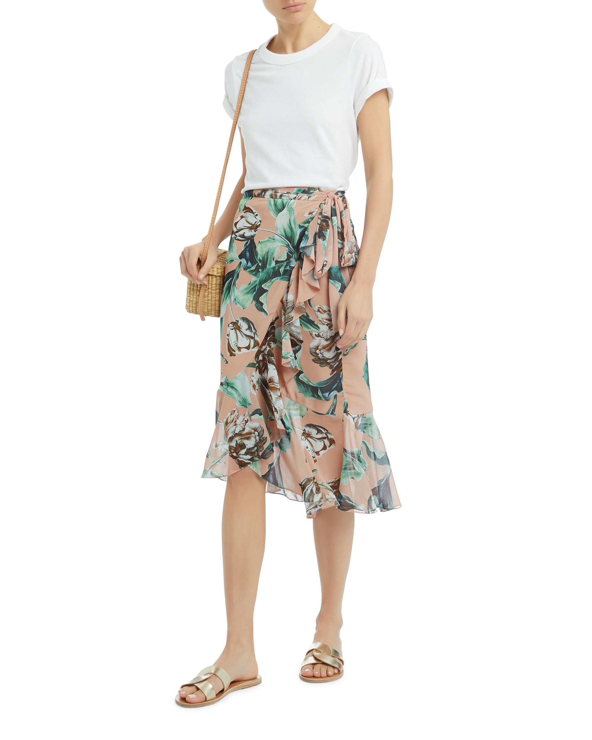 Botanica Wrap Skirt, MULTI, hi-res