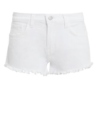 Zoe Denim Shorts, WHITE DENIM, hi-res