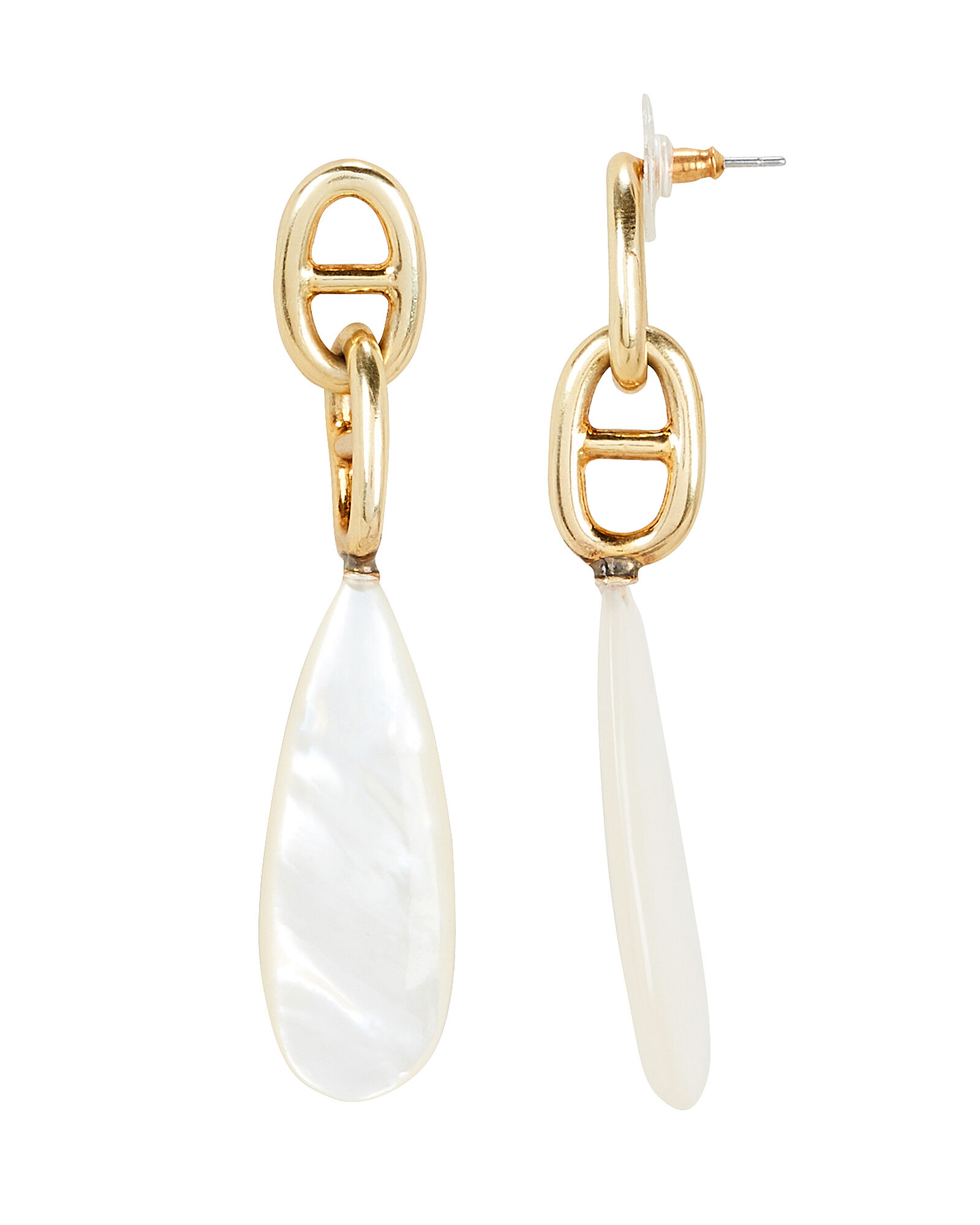 Grotto Drop Earrings, GOLD/PEARL, hi-res
