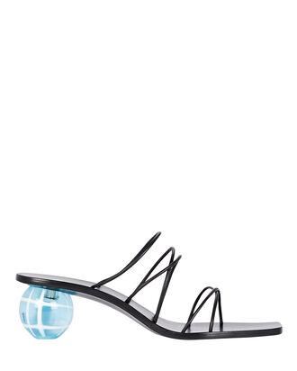 Cassie Ball Slide Sandals, , hi-res