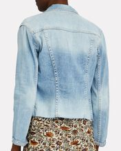 Janelle Cropped Denim Jacket, Sonora, hi-res