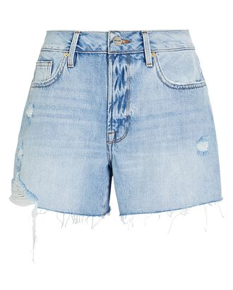 Le Brigette Denim Cut-Off Shorts, NATOMA, hi-res