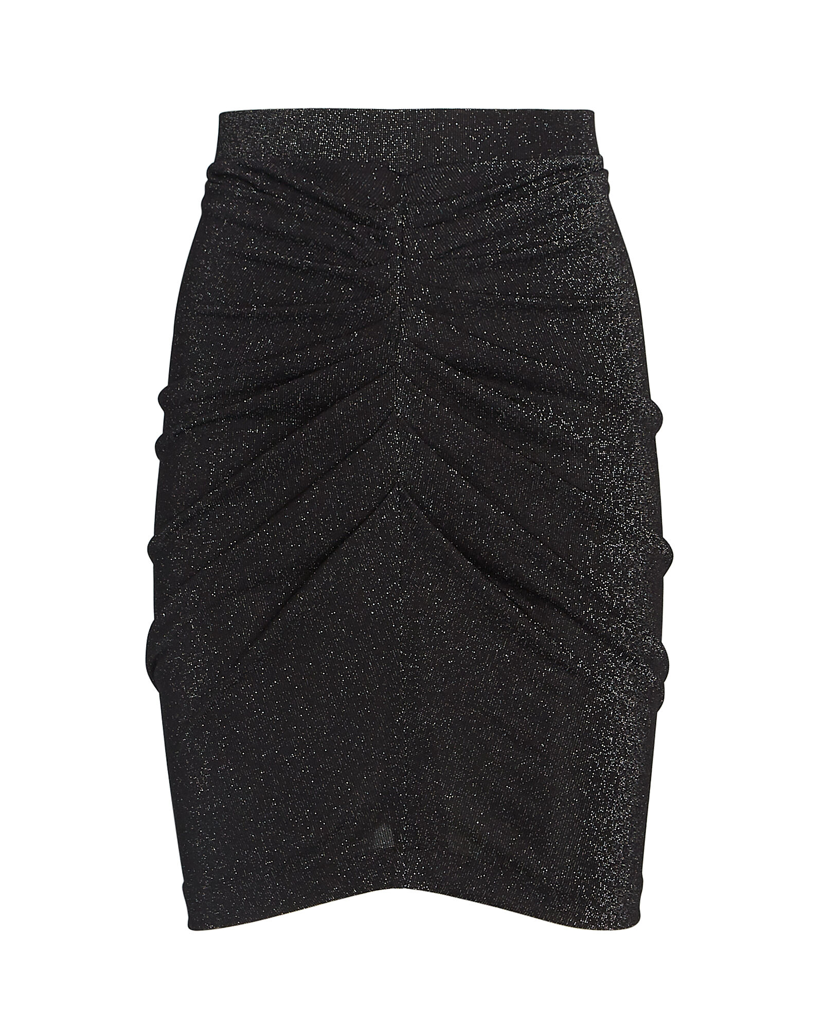 Sargas Ruched Lurex Mini Skirt, , hi-res