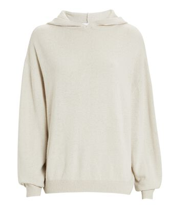 Tiago Hooded Cotton-Cashmere Sweater, IVORY, hi-res
