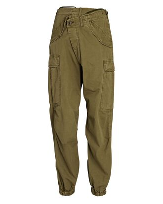 Crossover Cargo Drop Pants, OLIVE/ARMY, hi-res