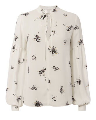 Ty Lantern Sleeve Top, PRINT, hi-res