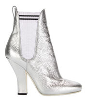 Marie Antoinette Second Skin Booties, SILVER, hi-res