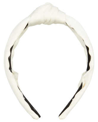 Top Knot Headband, IVORY, hi-res