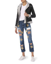 Ripped Star Patch Jeans, DENIM 2, hi-res
