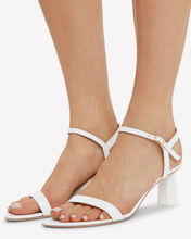 Magnolia Ankle Strap Sandals, WHITE, hi-res