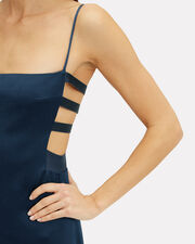 Ocean Viola Pencil Dress, NAVY, hi-res