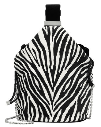 Kit Calfhair Zebra Bag, BLK/WHT, hi-res