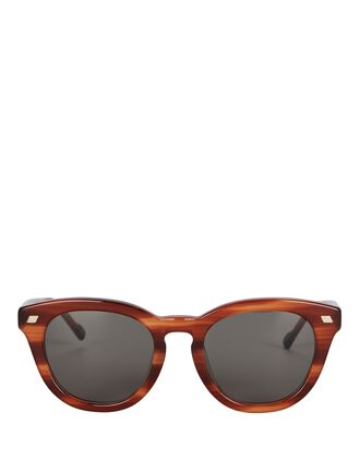 Over & Over Round Sunglasses, BROWN/GREY, hi-res