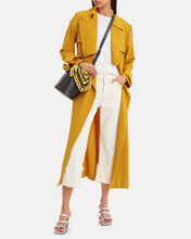 Marielle Trench Coat, MUSTARD, hi-res