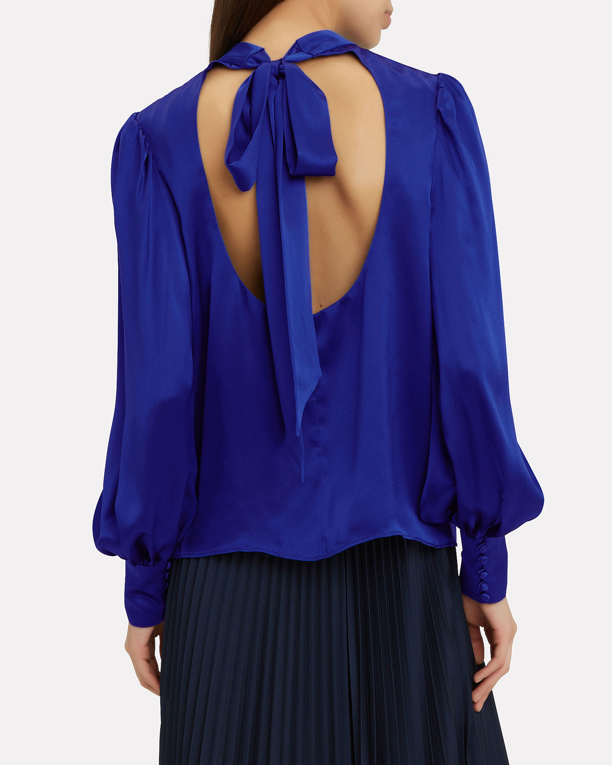 Lilly Blouse, BLUE, hi-res