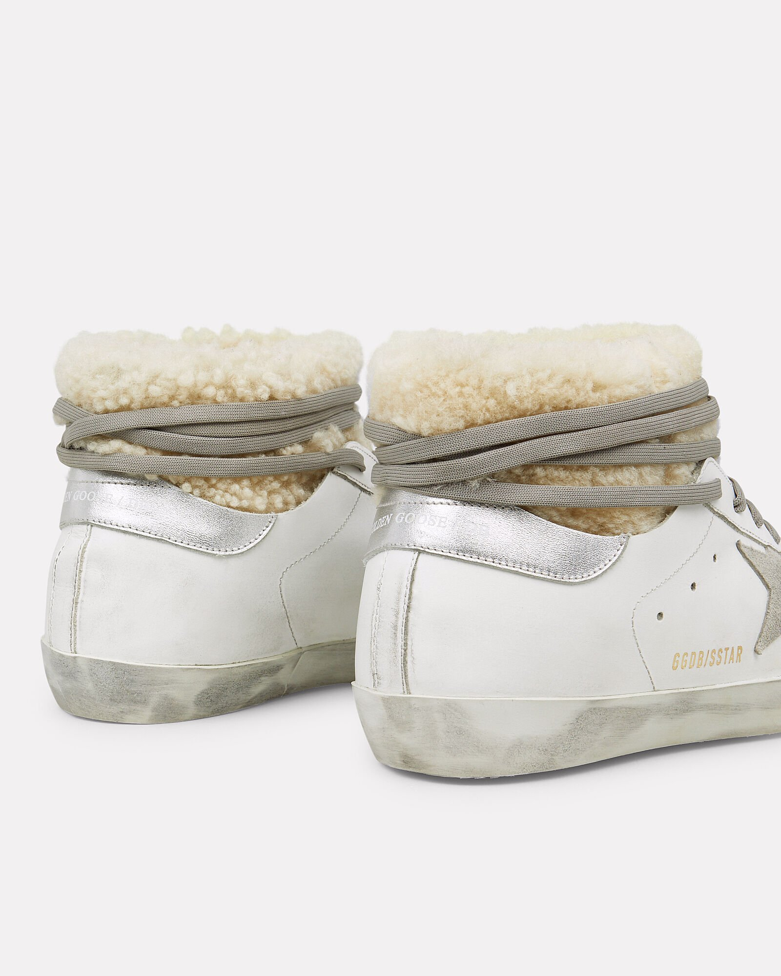 Superstar Shearling Moon Boots, WHITE, hi-res