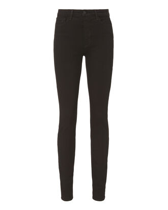 Marguerite Noir High-Rise Skinny Jeans, BLACK DENIM, hi-res