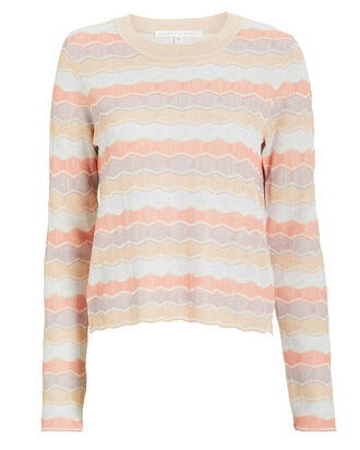 Alyssa Striped Crew Pull-Over, MULTI, hi-res