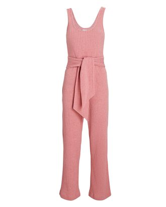 Molly Sleeveless Rib Knit Jumpsuit, LIGHT PINK, hi-res