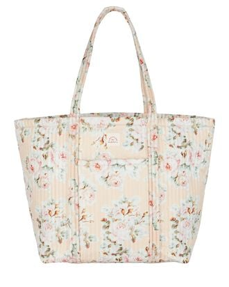 Avery Large Floral Weekender Tote Bag, BEIGE, hi-res