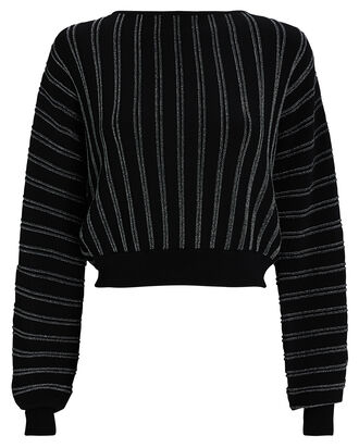 Jessa Striped Bateau Neck Sweater, MULTI, hi-res