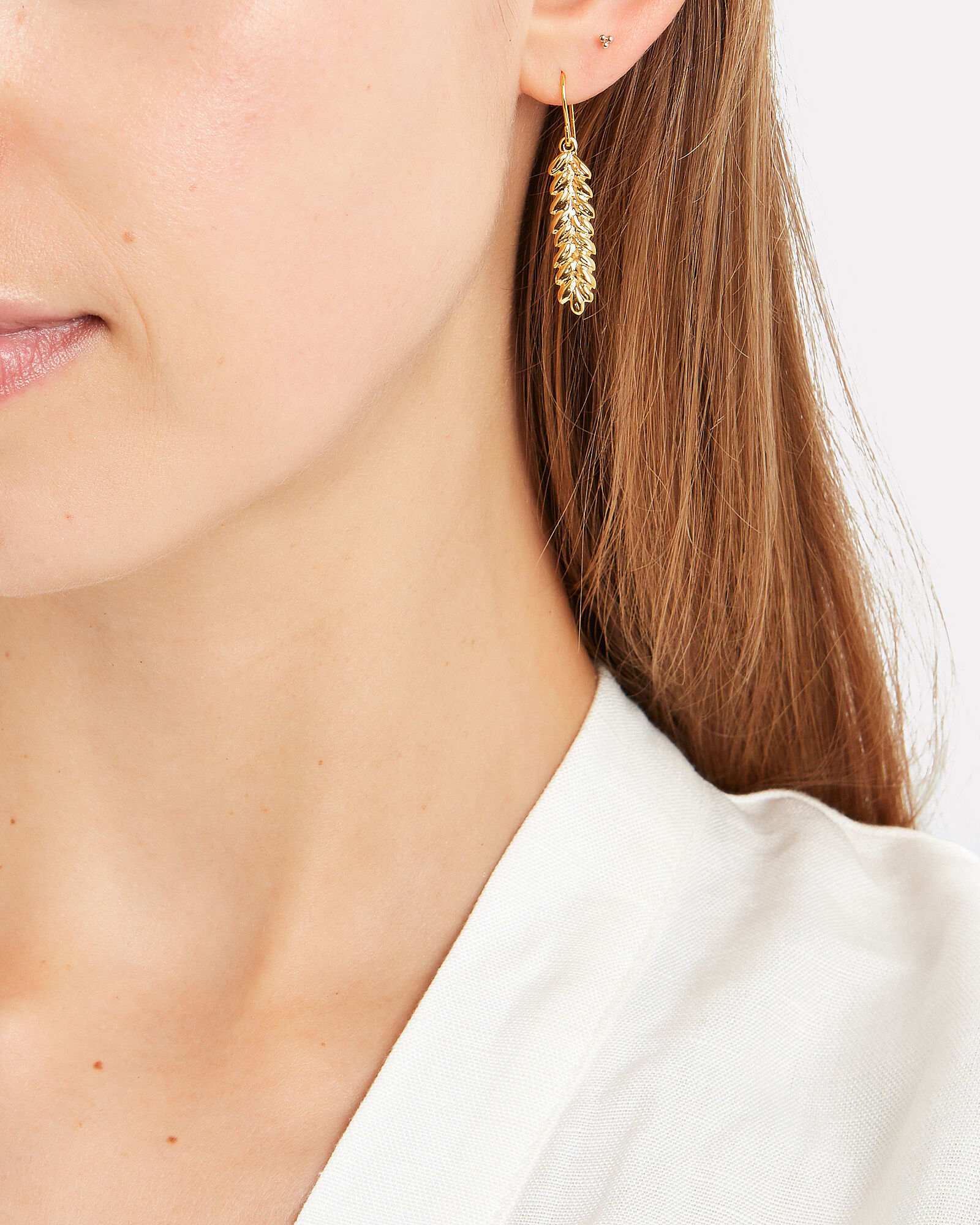 Actua Gold Wheat Earring, GOLD, hi-res