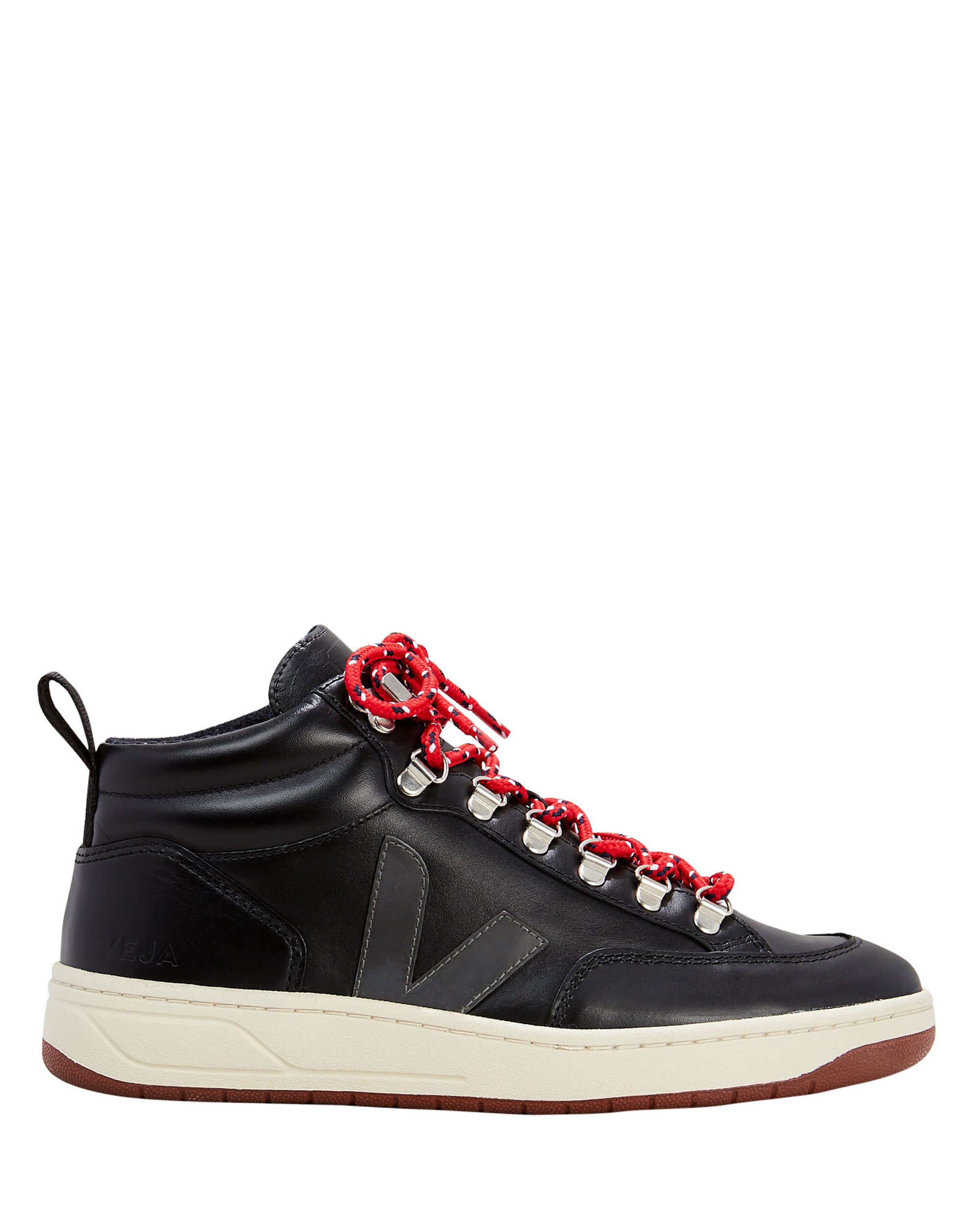 Roraima Mid-Top Sneakers, BLACK, hi-res