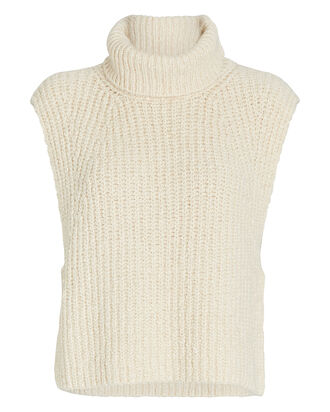 Megan Sleeveless Turtleneck Sweater, , hi-res