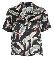 Maui Satin Short Sleeve Shirt, MULTI, hi-res
