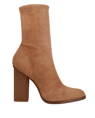 Gia Second Skin Booties, BEIGE/KHAKI, hi-res