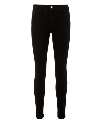 Le High Skinny Black Jeans, BLACK, hi-res