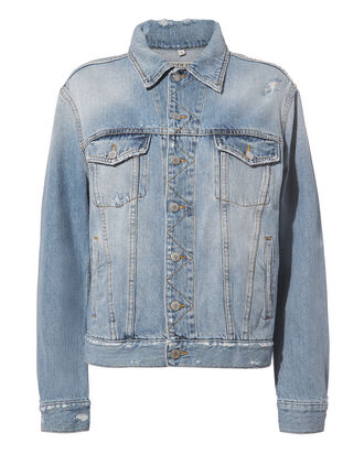 Nico Oversized Trucker Jacket, DENIM-LT, hi-res