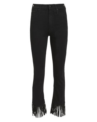Rascal Crop Fray Jeans, BLACK, hi-res