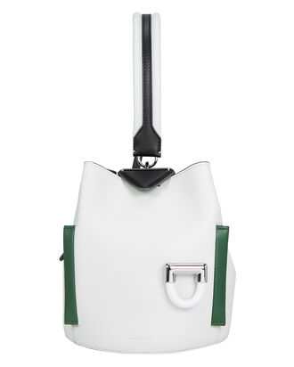 Josh Colorblock Bucket Bag, WHITE, hi-res