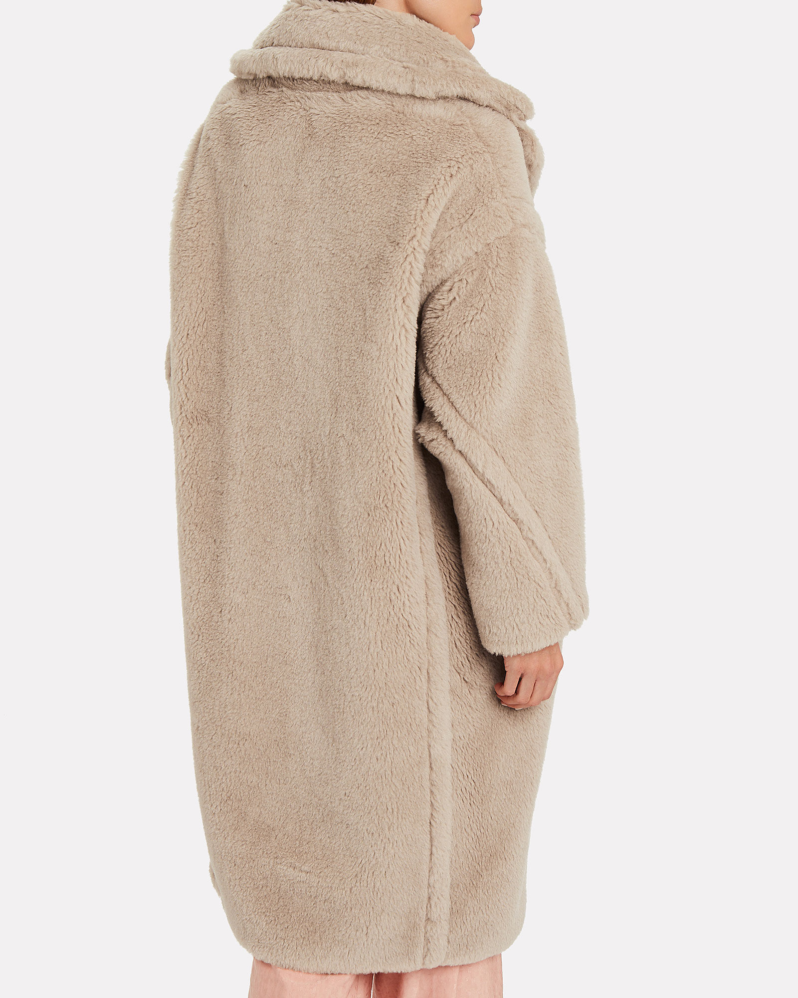 Teddy Bear Icon Coat, BEIGE, hi-res