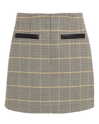 Reynolds Checked Mini Skirt, BEIGE/CHECK, hi-res