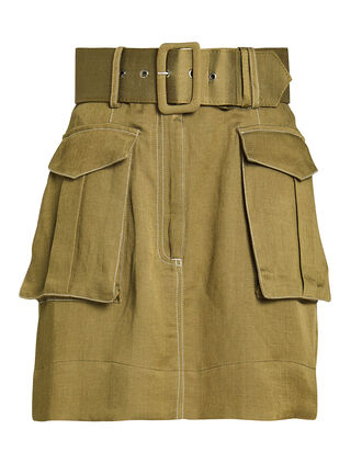 Ellington Cargo Mini Skirt, OLIVE, hi-res
