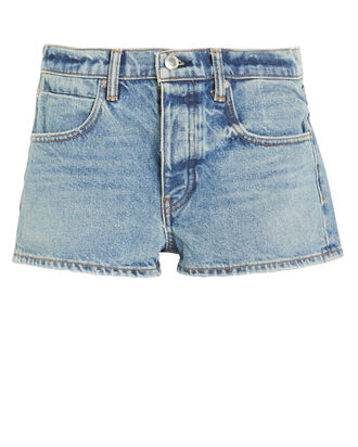 Bitty Micro Denim Shorts, VINTAGE INDIGO, hi-res