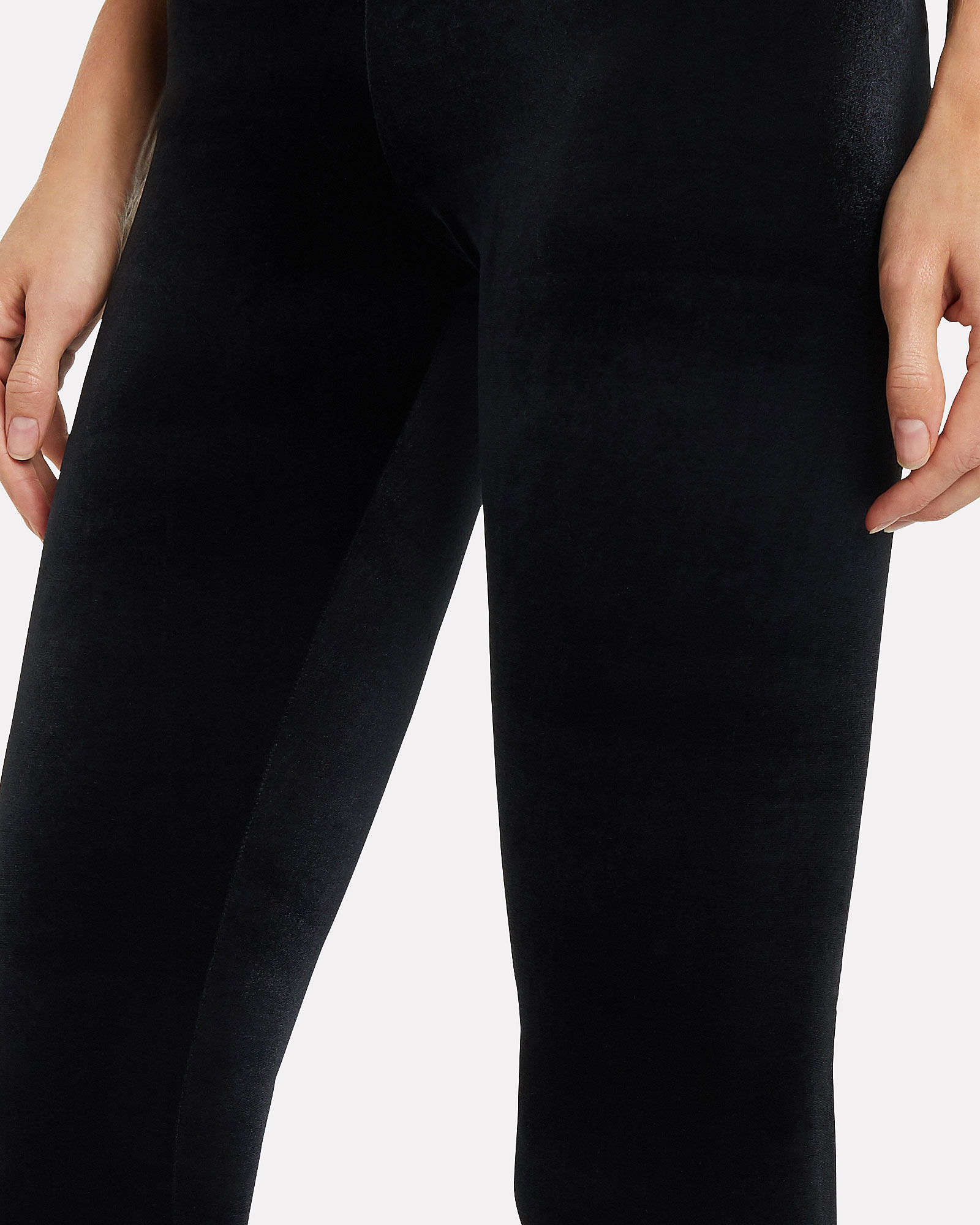 Perfect Control Velvet Leggings, BLACK, hi-res