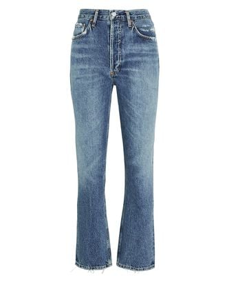 Riley High-Rise Straight Cropped Jeans, FREQUENCY, hi-res