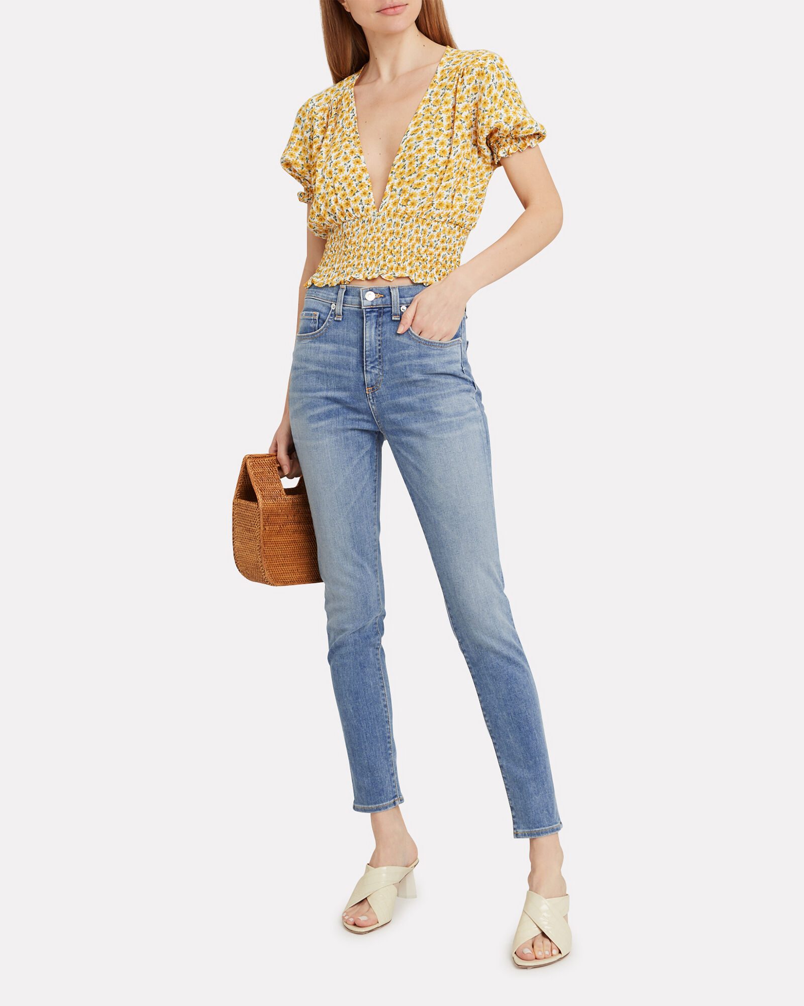 Kate Skinny Jeans, LIGHT WASH DENIM, hi-res